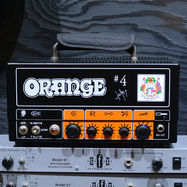 [중고] Orange Signature #4 Jim Root Terror Guitar Amplifier Head (15 Watts)