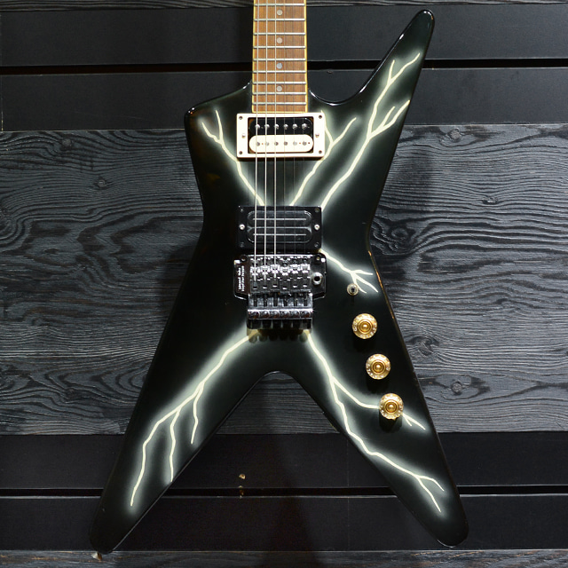[중고] Dean Dimebag Black Bolt ML Made in Korea 1990's