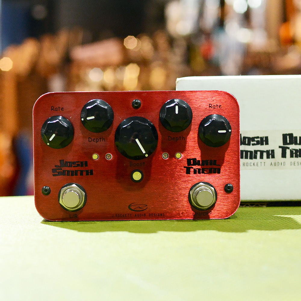 [중고] Rockett Pedal JOSH SMITH DUAL TREM 트레몰로 페달