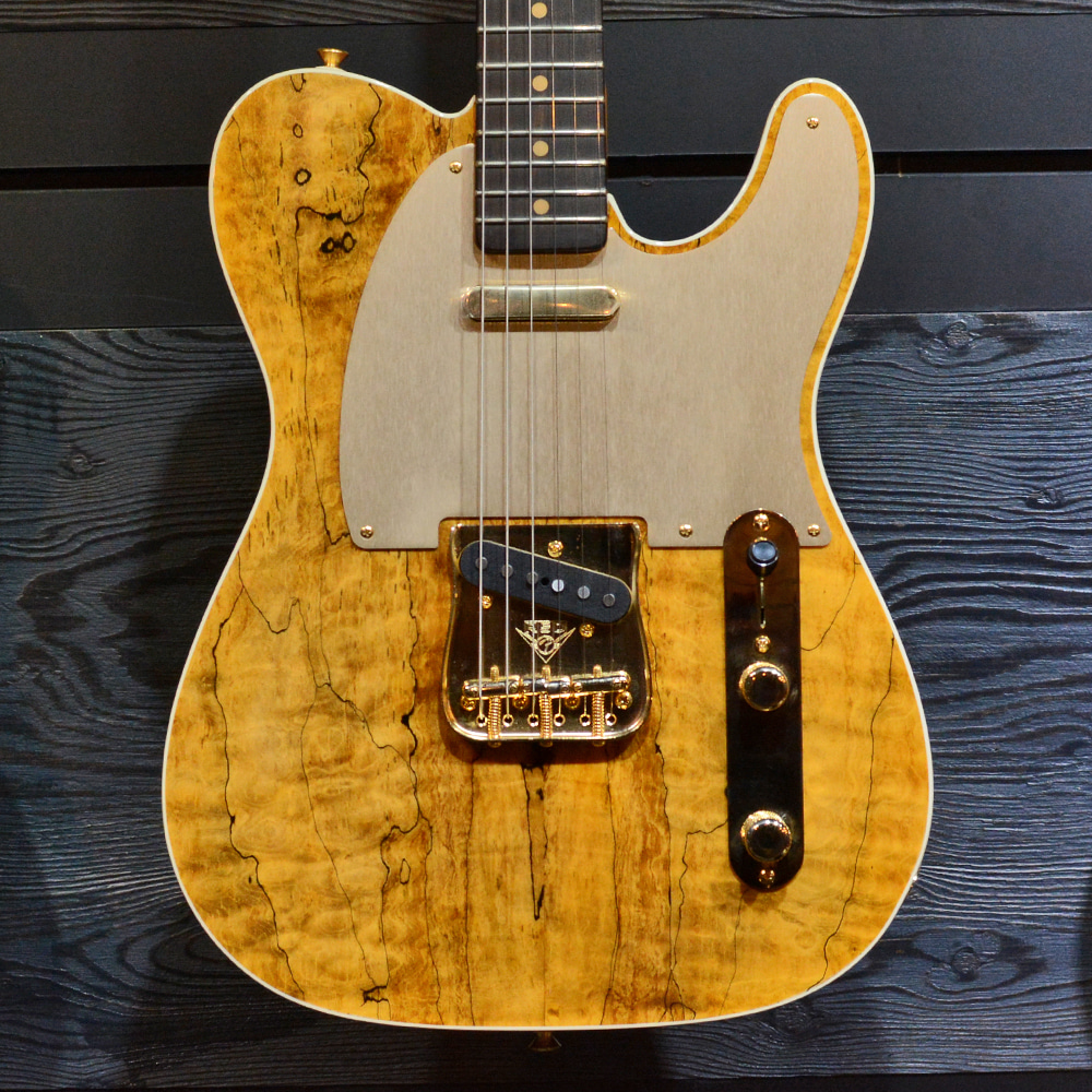 [중고] Fender Custom Shop Artisan Spalted Maple Telecaster 2018'