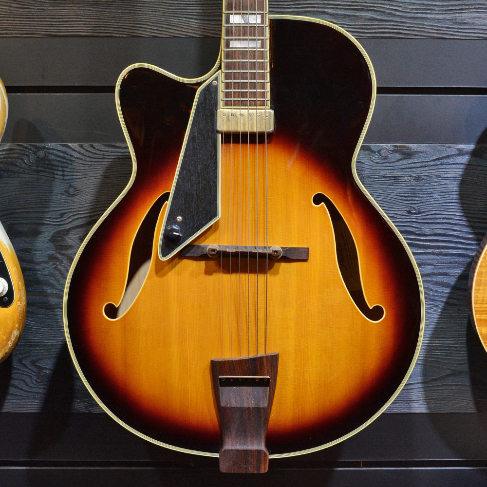 "[중고] Peerless MONARCH 17"" JAZZ Electric Archtop Lefty"