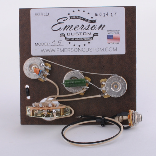 Emerson Custom - Strat 5 way