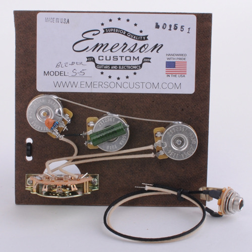 Emerson Custom - Strat Blender 5 way