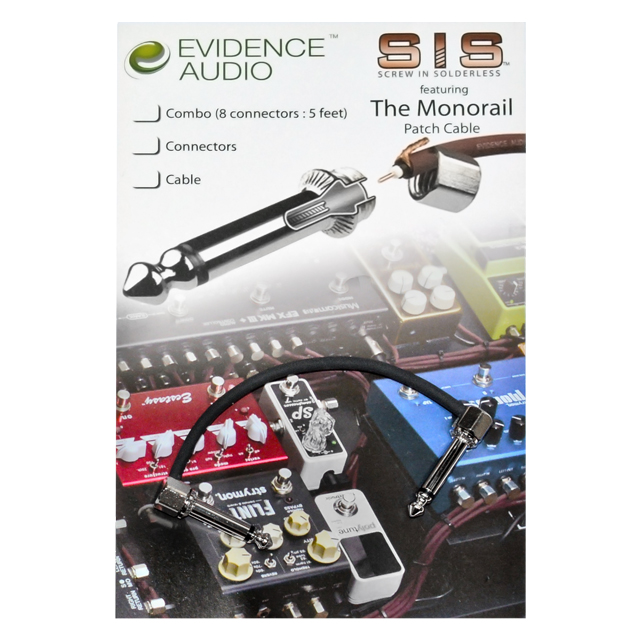 Evidence - The Monorail SIS MR20CM Patch (신제품)