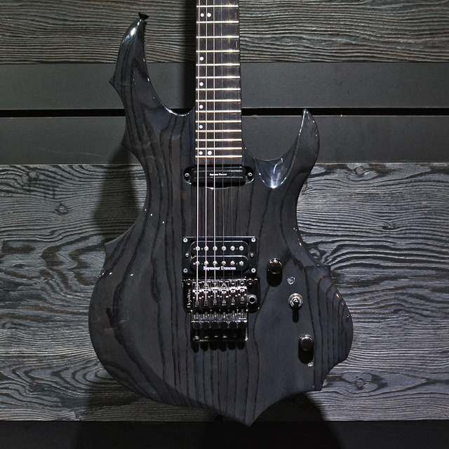 [중고] ESP Original Forest GT See Thru Black 2009'