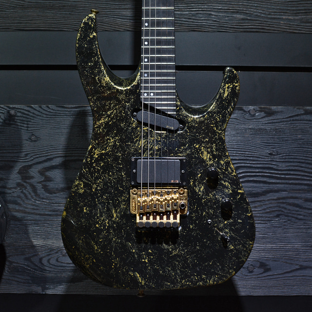 [중고] Hamer USA Californian Deluxe Black Gold Flake 1994' MINT