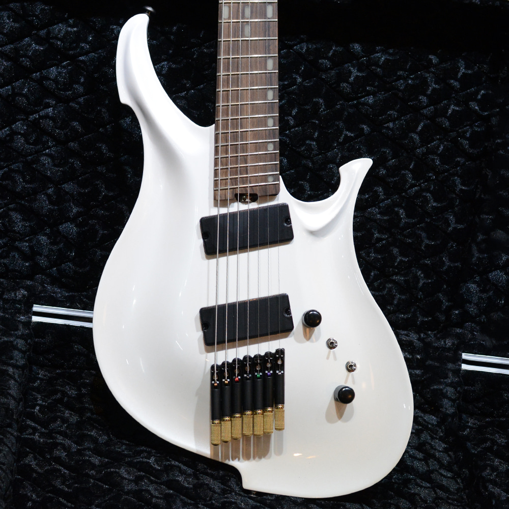 KOLOSS GUITAR X-7 Stone White (Headless)