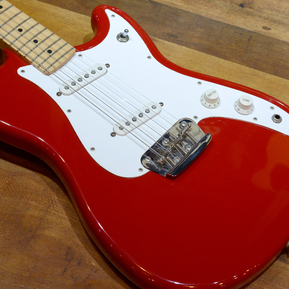 [중고] Fender Mexico Duo Sonic Torino Red 1996'