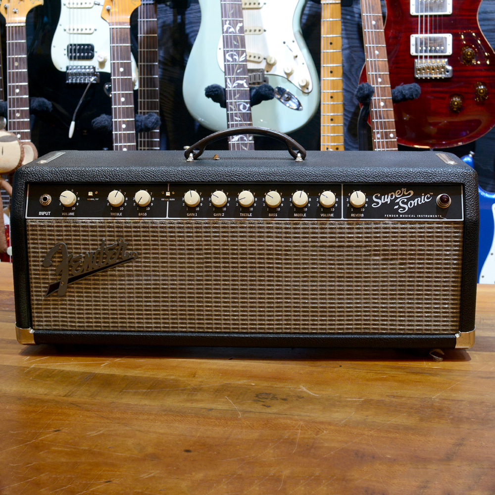 [중고] Fender Super Sonic22 Head 22watt