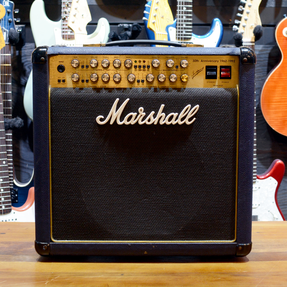 [중고] Marshall 6101 30th Anniversary Blue 1992'