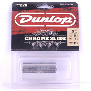Dunlop BRASS CHROME MEDIUM HEAVY WALL 228