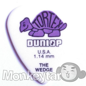 Dunlop WEDGE 1.14mm Purple