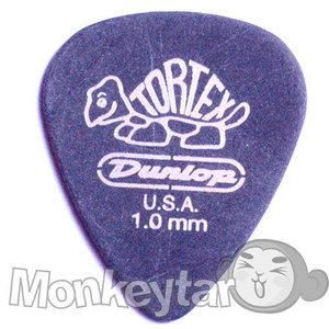 Dunlop Tortex Black STD 1.0mm