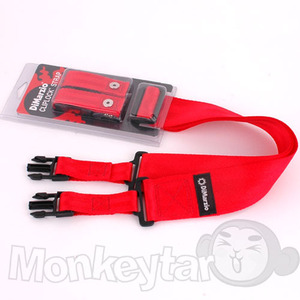 DiMarzio ClipLock NYLON Strap - Red