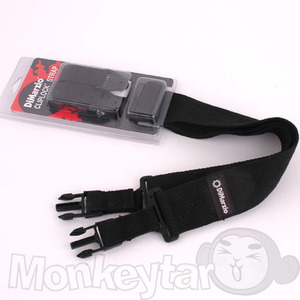 DiMarzio ClipLock Cotton Strap - Black
