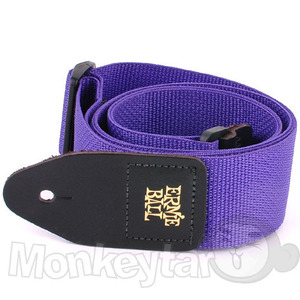 Ernieball - Purple Polypro Strap