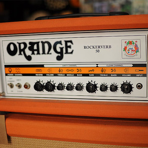 [중고] Orange Amp - Rockerverb 50 Head