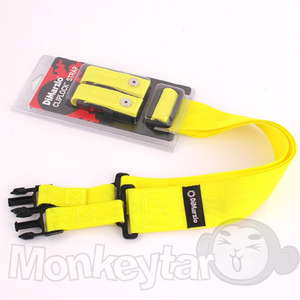DiMarzio ClipLock NYLON Strap -Yellow
