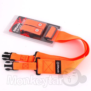 DiMarzio ClipLock NYLON Strap - Orange