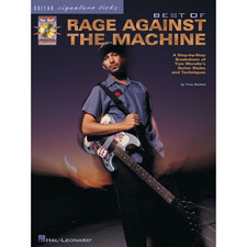 Hal Leonard - BEST OF RAGE AGAINST THE MACHIN