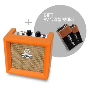 Orange - Micro Pix Crush 3와트 미니앰프