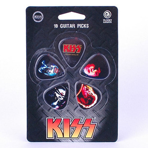 PlanetWaves - Kiss Signature PickSet (1CBK4-10K3)