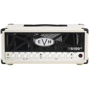 EVH 5150III Mini 50W Tube Guitar Amp Head Ivory + Evidence SIREN II Speaker Cable 무료제공