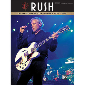 Alfred - Rush Deluxe Guitar TAB Collection 1975-2007