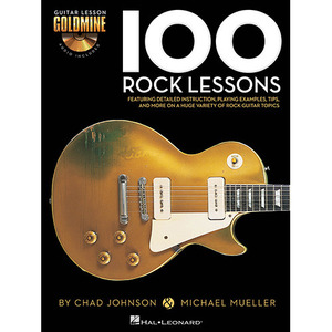 Hal Leonard - 100 Rock Lessons (2CD 포함)