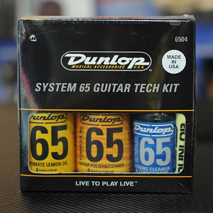 Dunlop - 65 Guitar Tech kit 6504 (폴리쉬 세트)