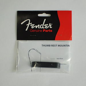 Fender - Orignal thumbrest P&J bass blk (099-2036-000)