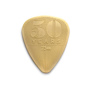 Dunlop - 50th Anniversary Gold Nylon Pick
